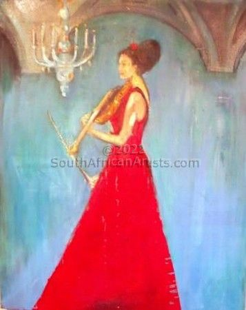 """Woman with the Violin"""