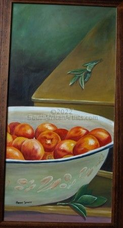 """Bowl with nectarines"""