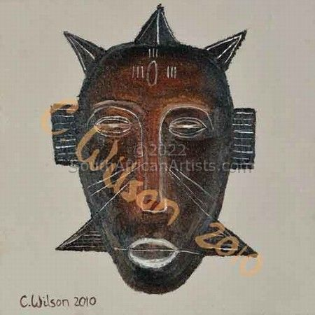 """African Mask 1"""