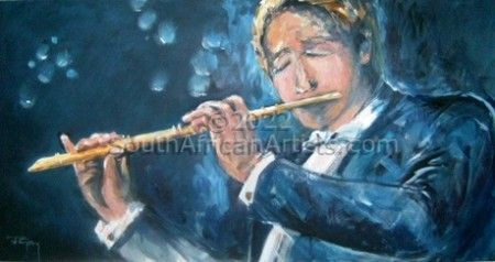 """Flute Player"""
