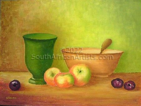 """Bowl and Fruit"""