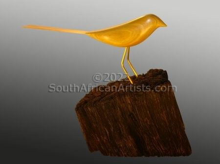 """Yellow Wood Shama"""
