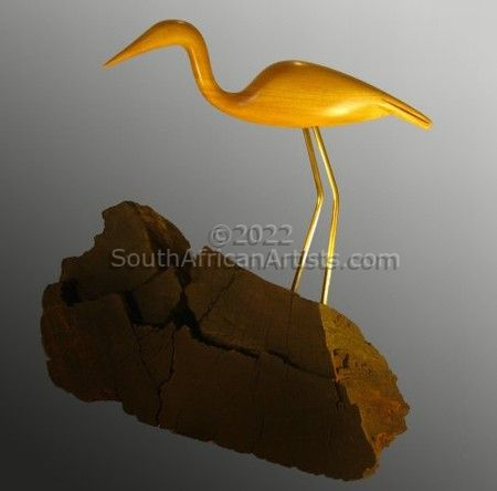 """Yellow Wood Crane"""