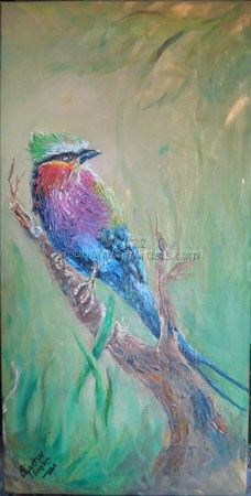 """Lilac-breasted Roller"""