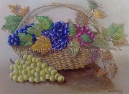 """Grapes in Wicker"""
