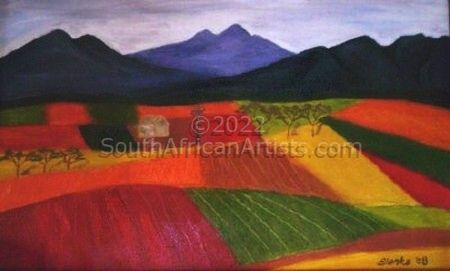 """Colorful Fields"""