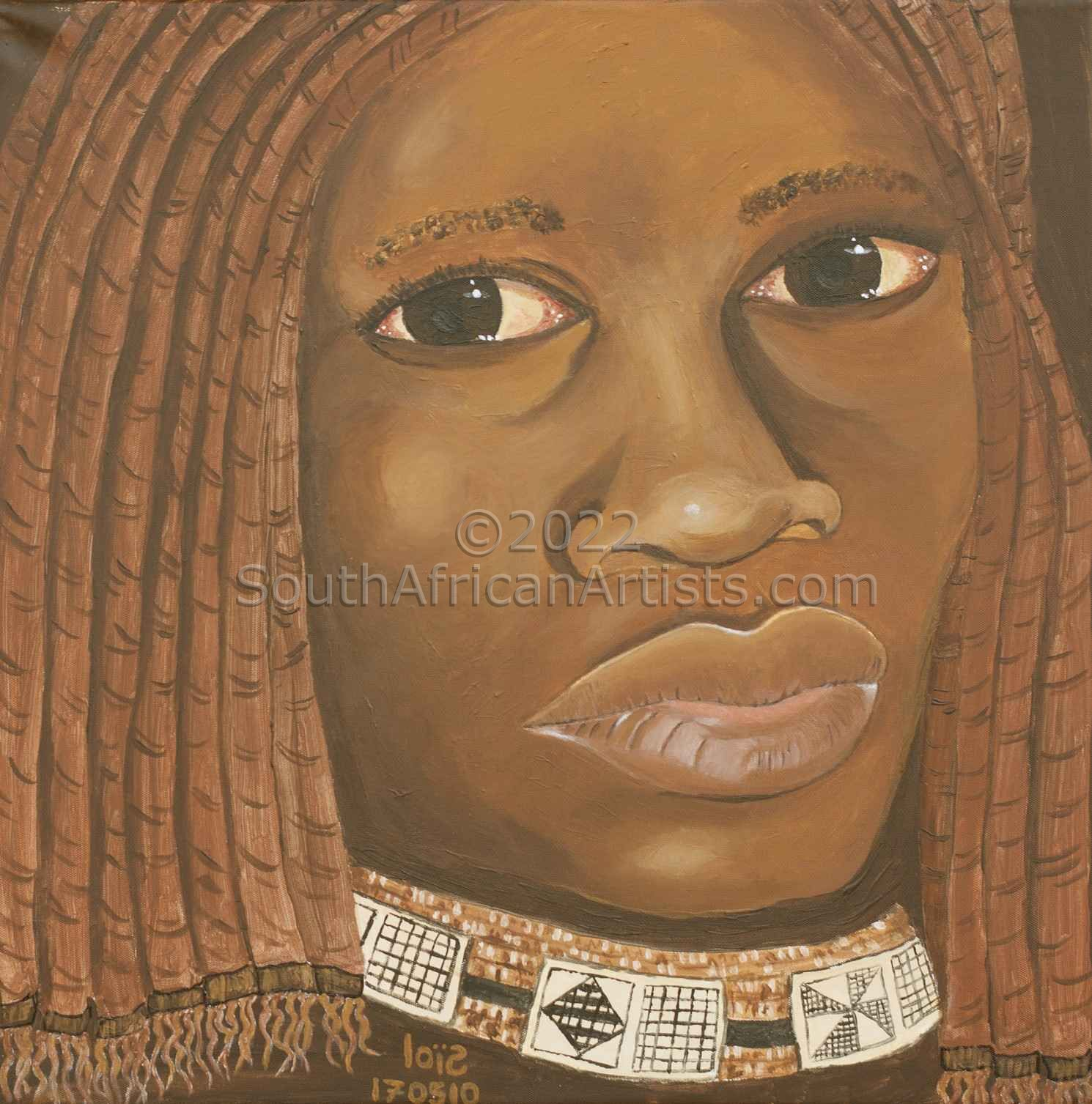 """A Himba Maiden"""