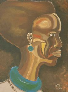 """African Lady Faceted"""