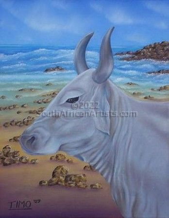 """Beached Cow"""