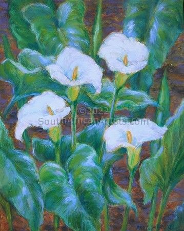 """Four Lilies"""