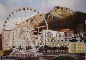 """Wheel of Excellence, Cape Town"""