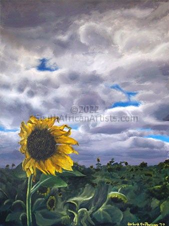 """Lonely Sunflower"""