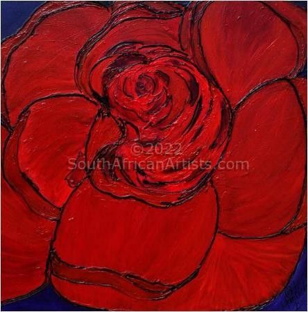 """Abstract Rose"""
