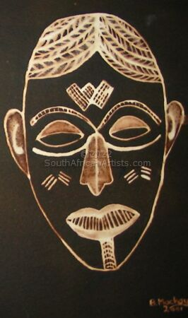 """African Mask 2"""