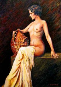 """Lady with a Basket"""