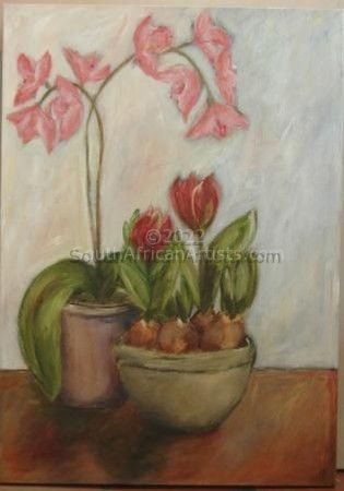 """Orchids and Tulips"""