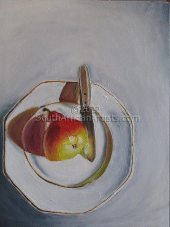 """Pear on Plate"""