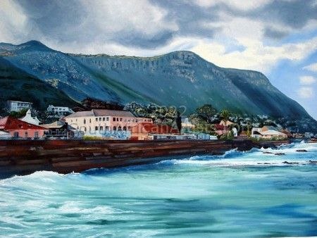 """Kalk Bay from the Brass Bell"""