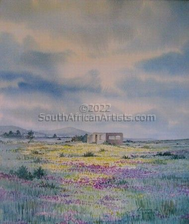 """Lonely Ruin- Namaqualand"""