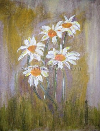 """South African Daisies"""