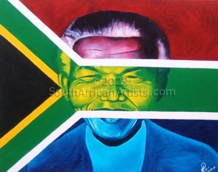 """Nelson Mandela in his true colours"""