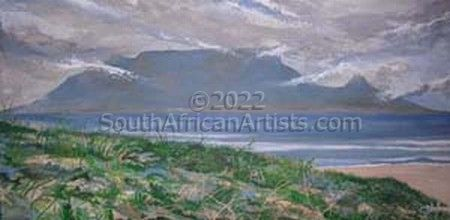 """Stormy Table Mountain"""