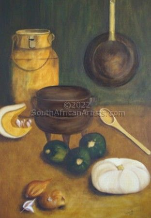 """Country kitchen (rustic)"""