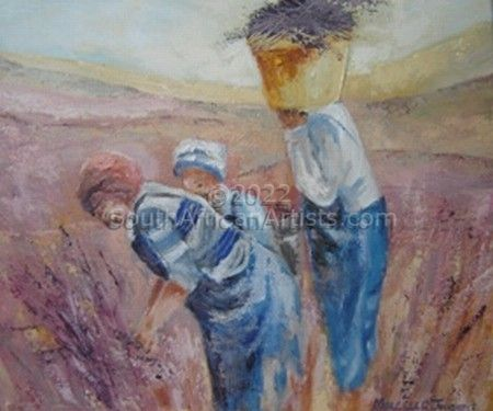 """Lavender Pickers"""