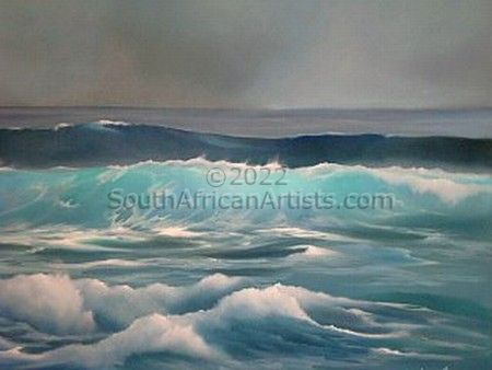 """Turquoise Waves"""