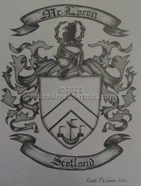 """Mc Laren Coat of Arms"""