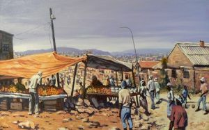 """Road Stall, Soweto"""