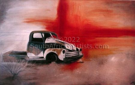"""Old Truck - Namibian Series"""