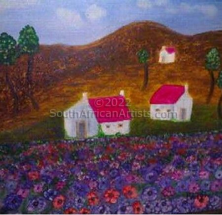 """Cosmos and Cottages"""
