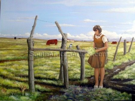 """Girl at Crossroads"""