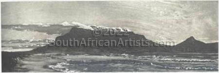"""View of Table Mountain from Milnerto"""