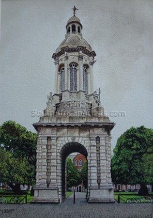 """The Campanile at Trinity College"""