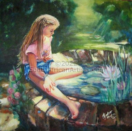 """Dreaming at the Pond"""