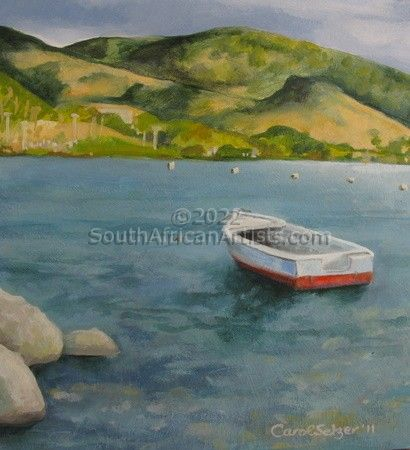 """Solitary Boat"""