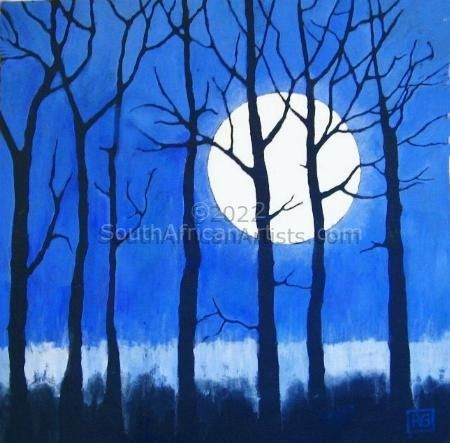 """Trees in the Moonlight"""
