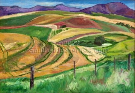 """Caledon Ploughed Fields"""