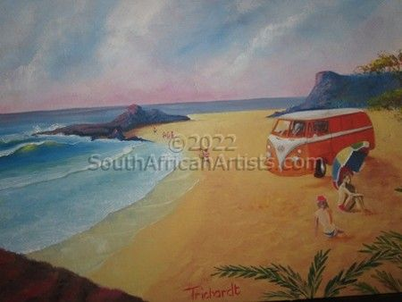 """Kombi at the Sea"""