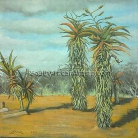 """Aloes in the Bushveld"""