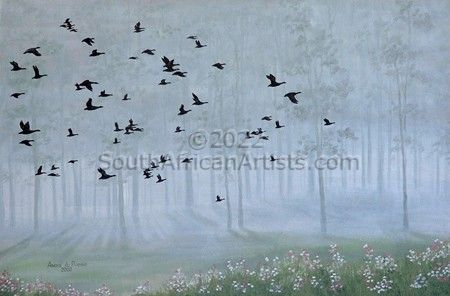 """Wild geese"""