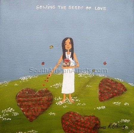 """Sowing the seeds of love"""