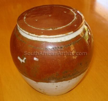 """Smaller Ginger Jar With Lid"""