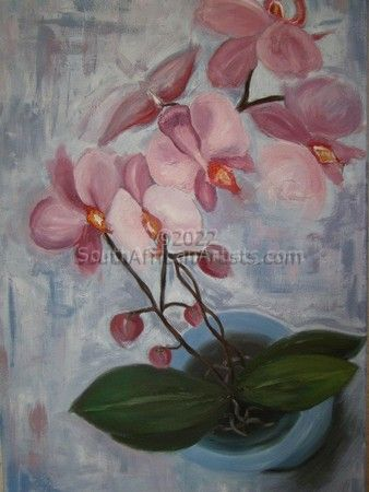 """Pink Orchids"""