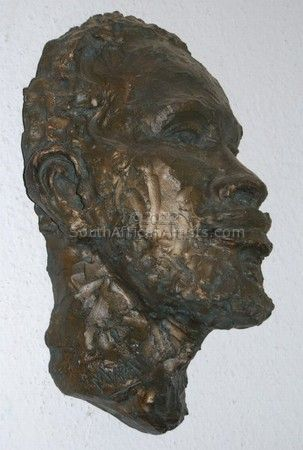 """African Man Portrait - Wall Hanging"""