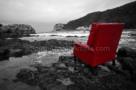 """Seascape 1, My Fathers Chair"""