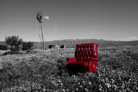 """Karoo Landscape, My Father's Chair"""