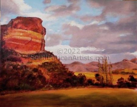 """Evening, Face Rock, Clarens"""